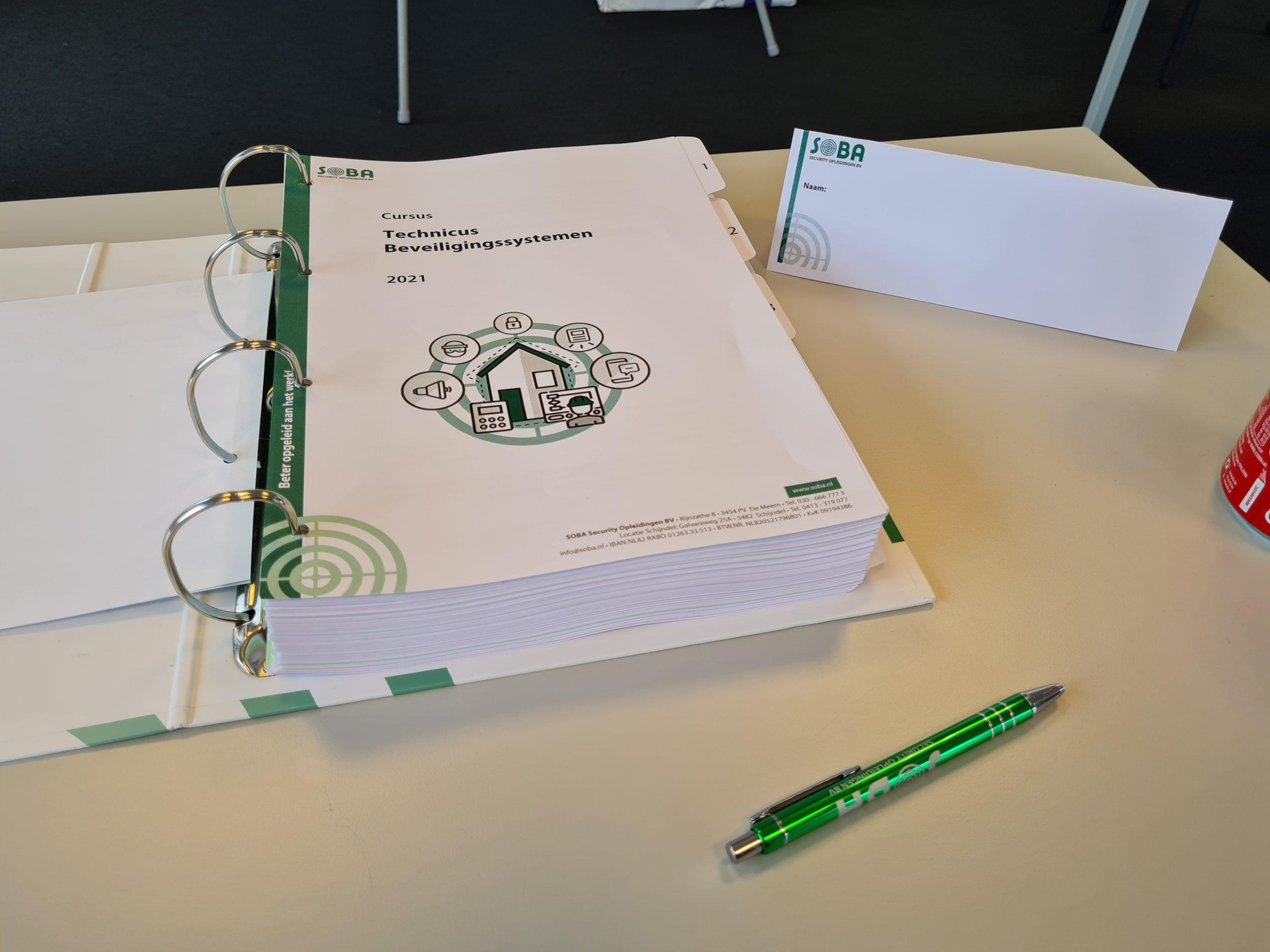 Soba TBV cursusboek